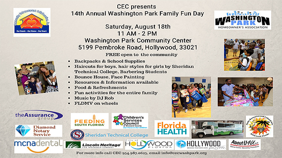Family Fun Day at Washington Park