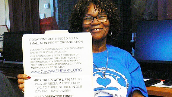 Community activist hopes to retire