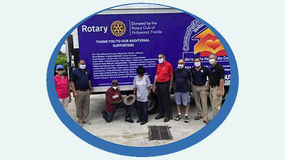 Rotary Club of Hollywood Donates Truck to CEC